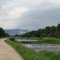 古都・京都、鴨川